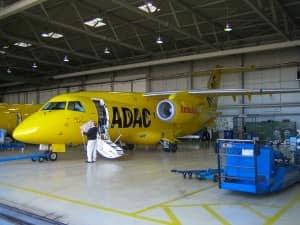 Beschriftungen Flugzeug Trafic Media