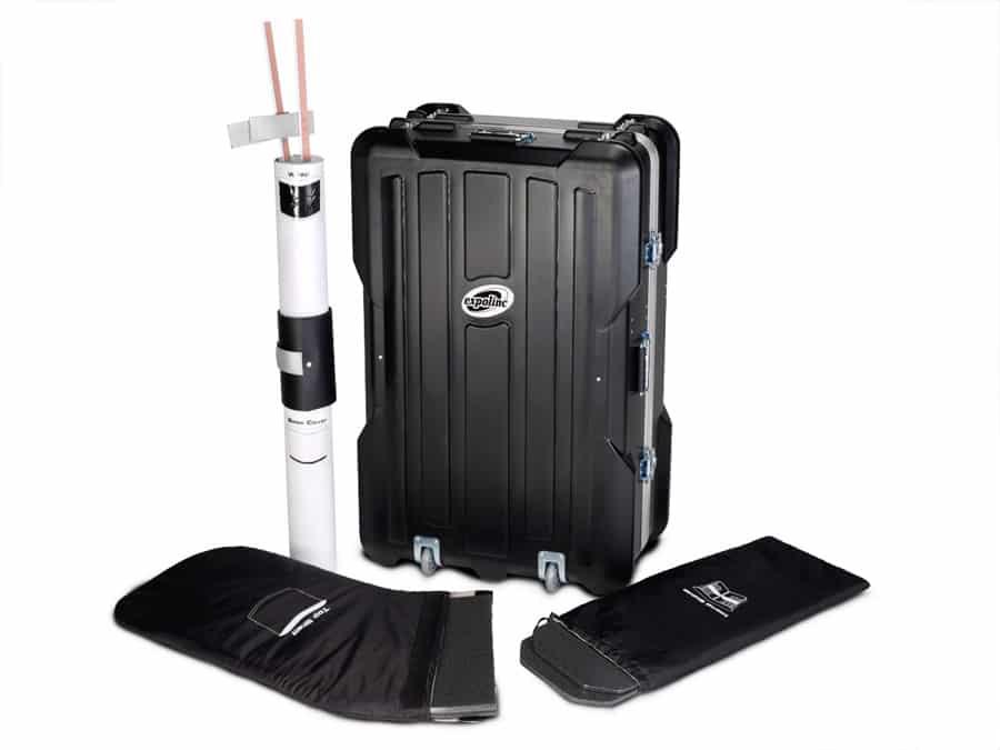 Expolinc Case & Counter - Der Transportkoffer ist für ein maximales Transportvolumen von 196 Litern ausgelegt.