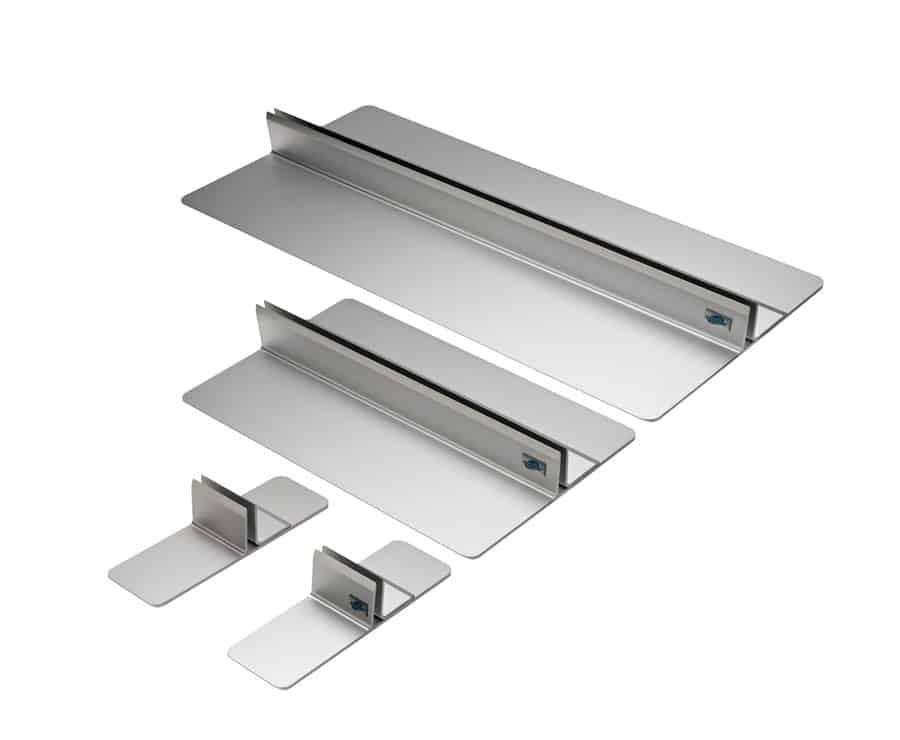Expolinc Panel Base Diskrete Aluminiumkonstruktion. Elegant und leicht sauber zu halten.