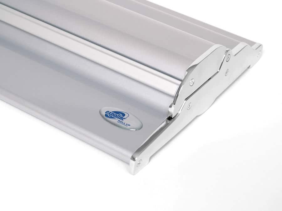 Roll Up Professional - versenkte Schraubköpfe unterstreichen das exklusive Design.