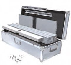 Octanorm Monitoranwendungen - VA 5514 verpackt in Transportkiste VA 9888