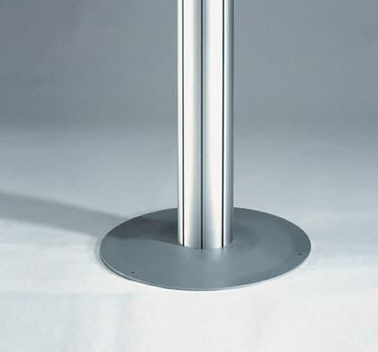 Octanorm Vario D2 - Fußplatte m 1329 und Stütze m 1239