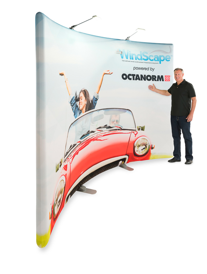 Octanorm WindScape – ein neuartiges aufblasbares Präsentationssystem