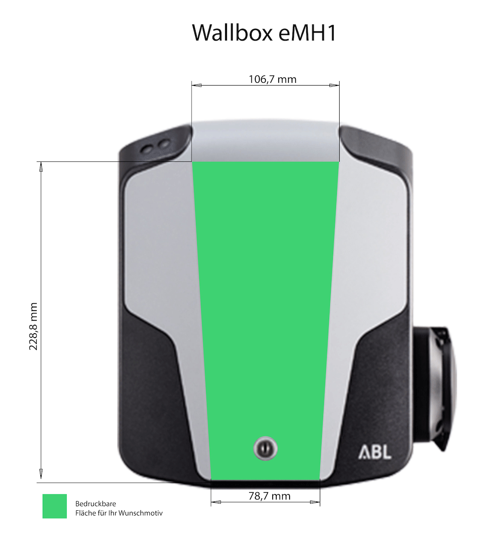 Branding für die Wallbox