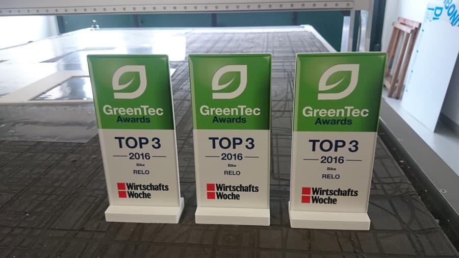Award Sonderbau CNC Fräsen Werbetechnik Direktdruck