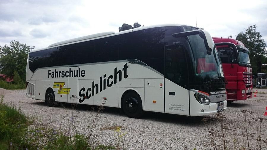 Meysel Bus Beschriftung Fahrzeugbeschriftung Werbetechnik I